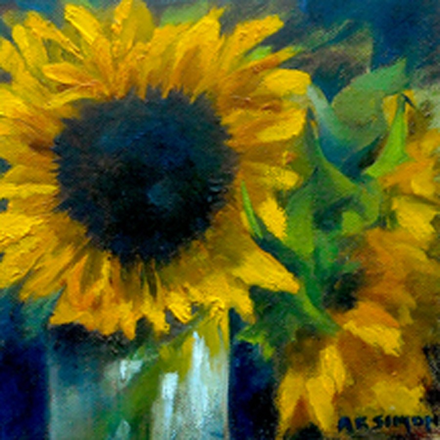 """Alternate Sunshine"" original fine art by A.K. Simon"