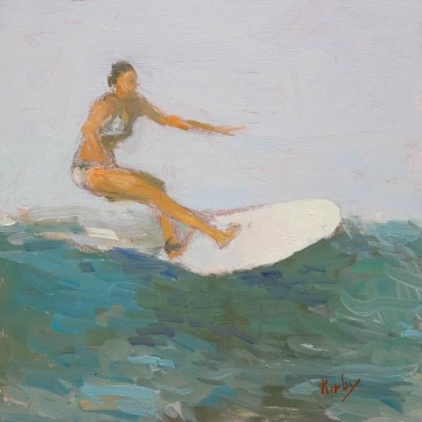 """Smooth Ride"" original fine art by Randall Cogburn"