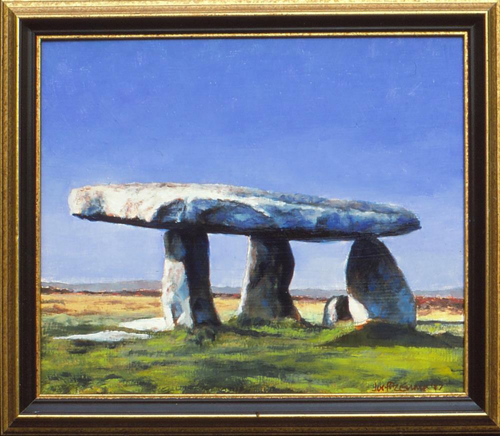 """Lanyon Qouit"" original fine art by Joe Fitzgerald"