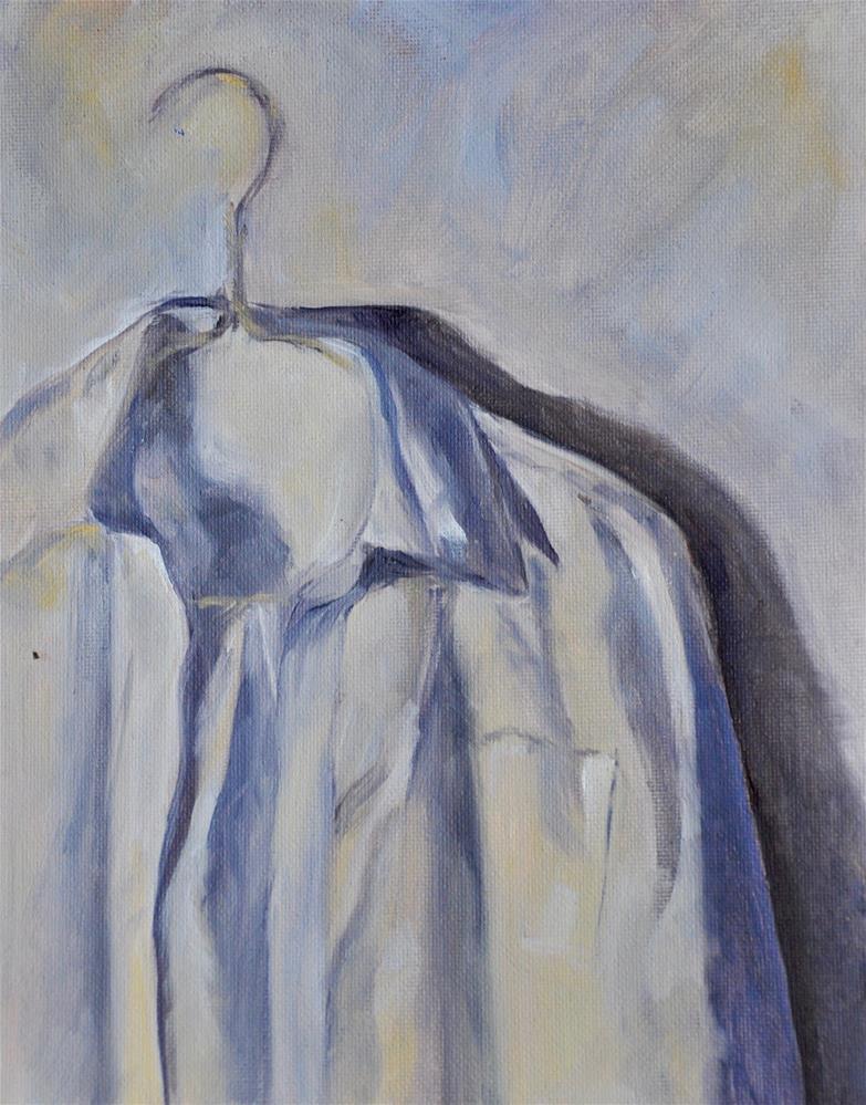 """Work Shirt"" original fine art by Theresa Gonzales"