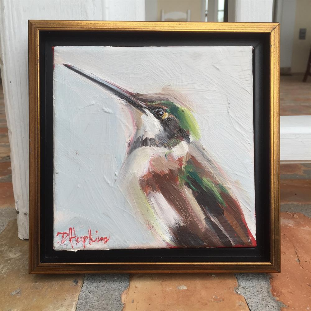 """Small Packages, Framed"" original fine art by Denise Hopkins"