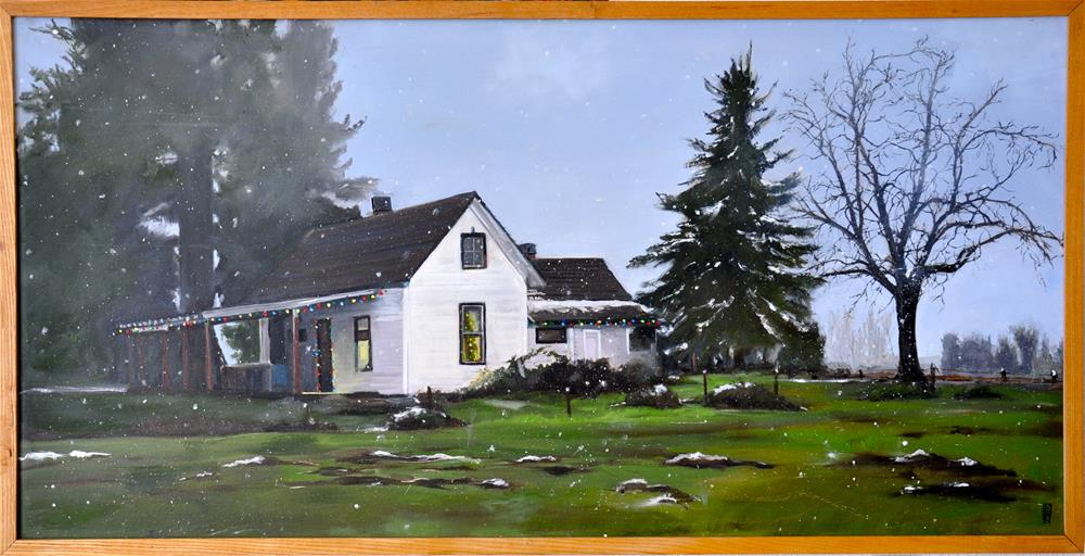 """Homestead"" original fine art by Margot Cole"