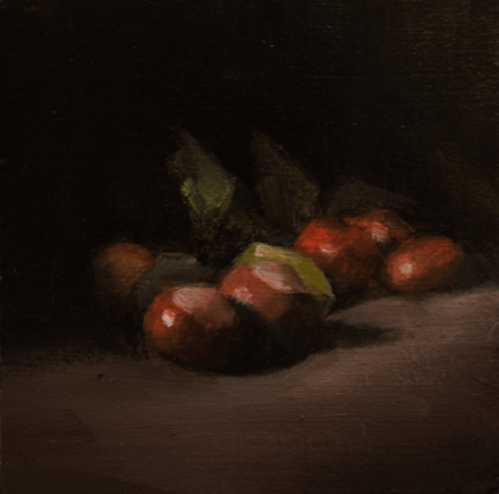 """Conkers"" original fine art by Neil Carroll"