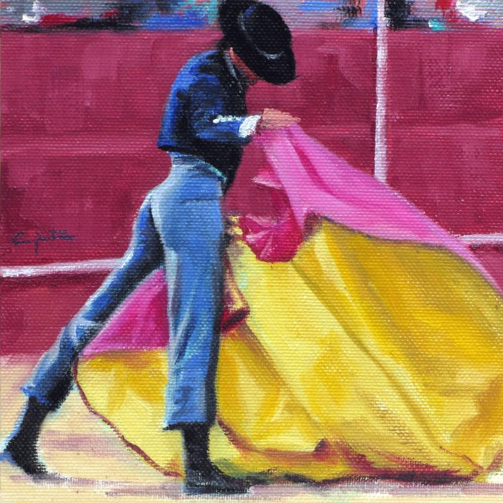 """""""Bonita verónica"""" original fine art by Eduardo Carpintero"""