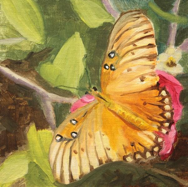 """Butterfly"" original fine art by Jane Frederick"
