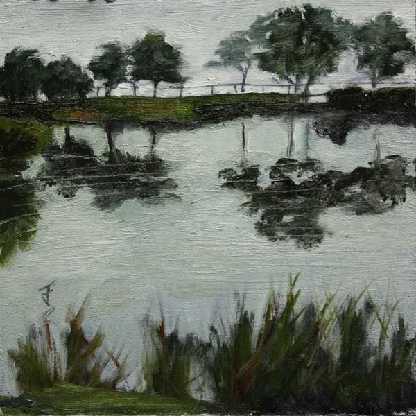 """Reflections"" original fine art by Jane Frederick"