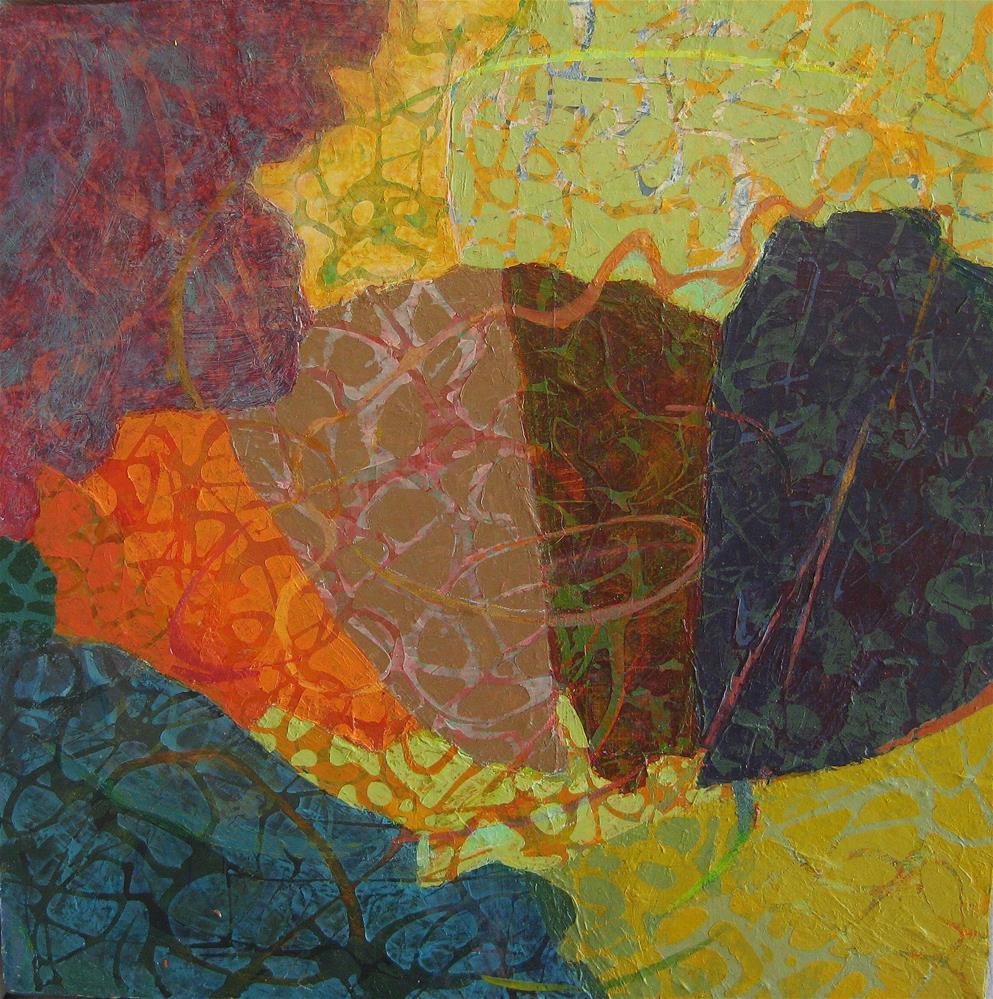 """acordian"" original fine art by Priscilla Bohlen"