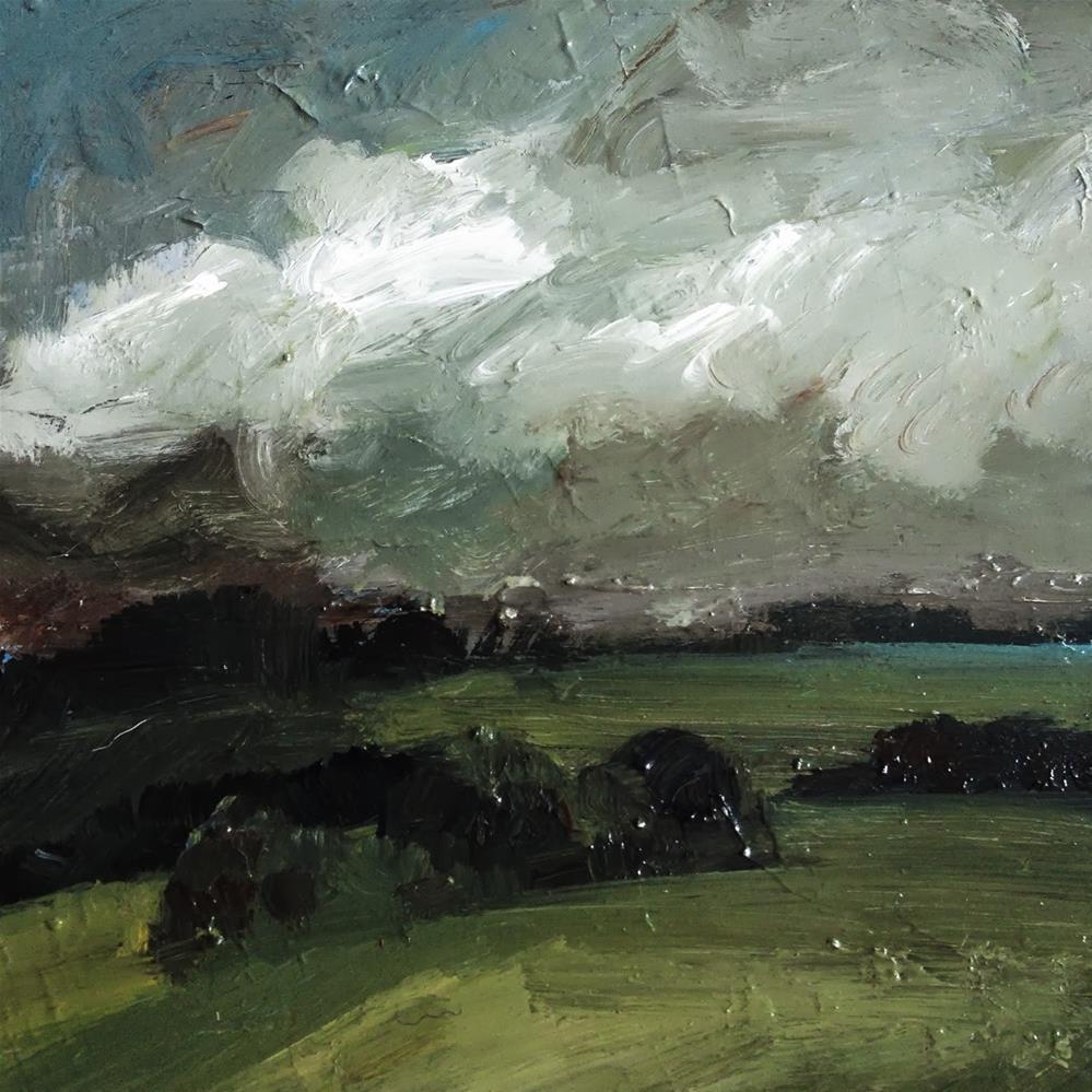"""Dark sky"" original fine art by Parastoo Ganjei"