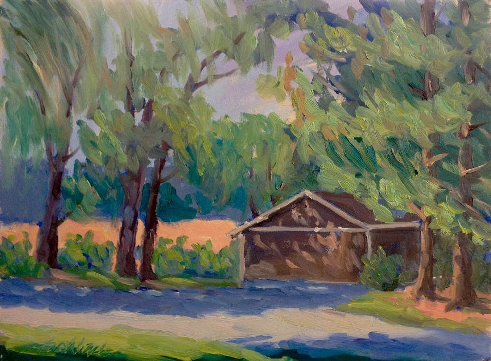 """Dappled Light"" original fine art by Daniel Fishback"
