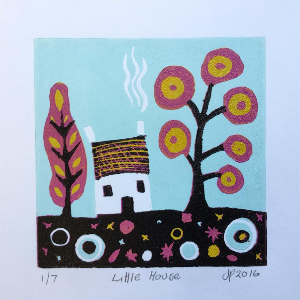"""Little House"" original fine art by Jane Palmer"