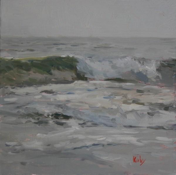 """Sea Wave"" original fine art by Randall Cogburn"