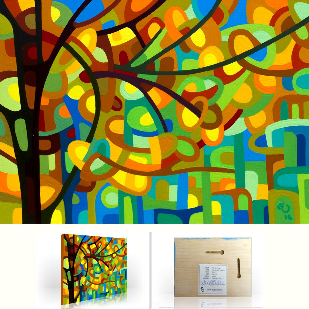 """Landscape Study #104"" original fine art by Mandy Budan"