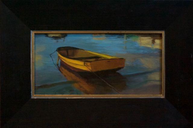 """Balboa Island Beauty"" original fine art by max moss"