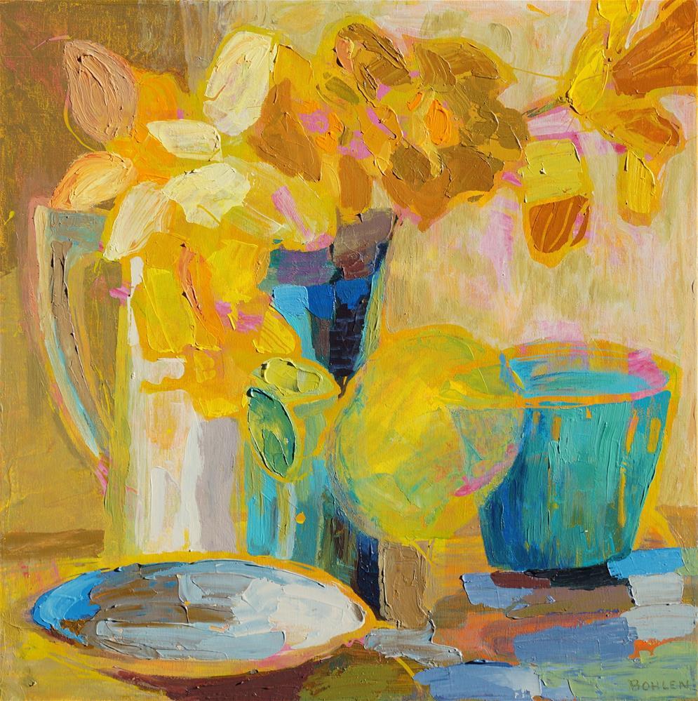 """""""jug"""" original fine art by Priscilla Bohlen"""