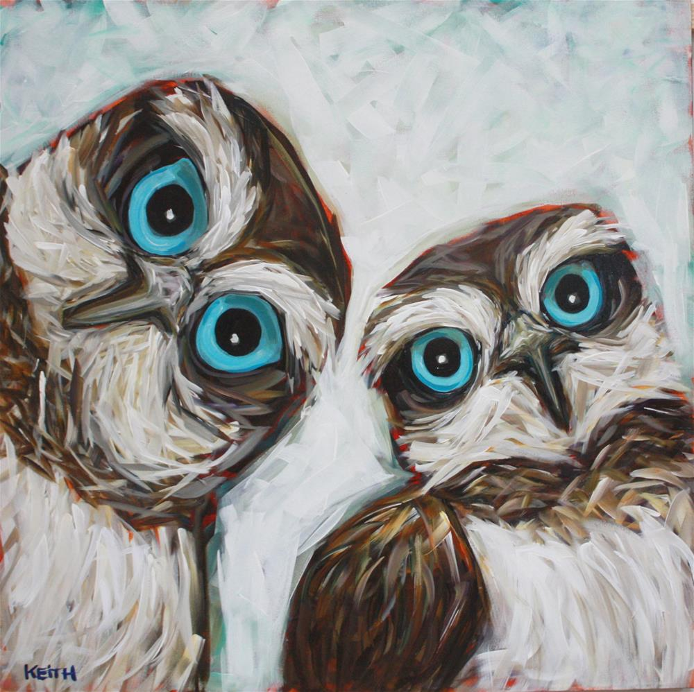 """Mr. & Mrs."" original fine art by Kandice Keith"