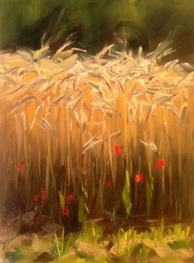 """Glowing Ensemble"" original fine art by Thomas Ruckstuhl"