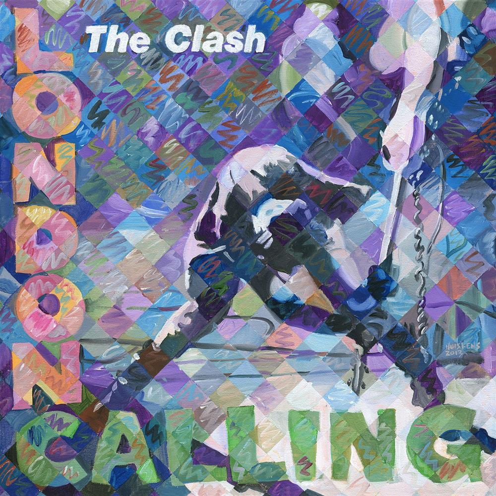 """London Calling"" original fine art by Randal Huiskens"