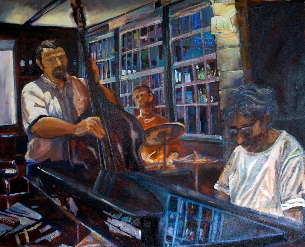 """""""All That Jazz"""" original fine art by Carolynn Doan"""