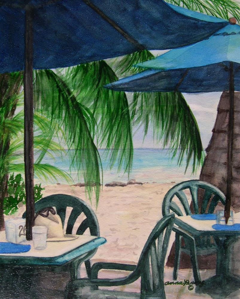 """Bajan Paradise"" original fine art by Anna Penny"