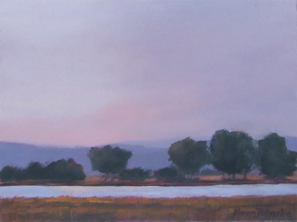 """Soft Silence"" original fine art by Karen Johnston"