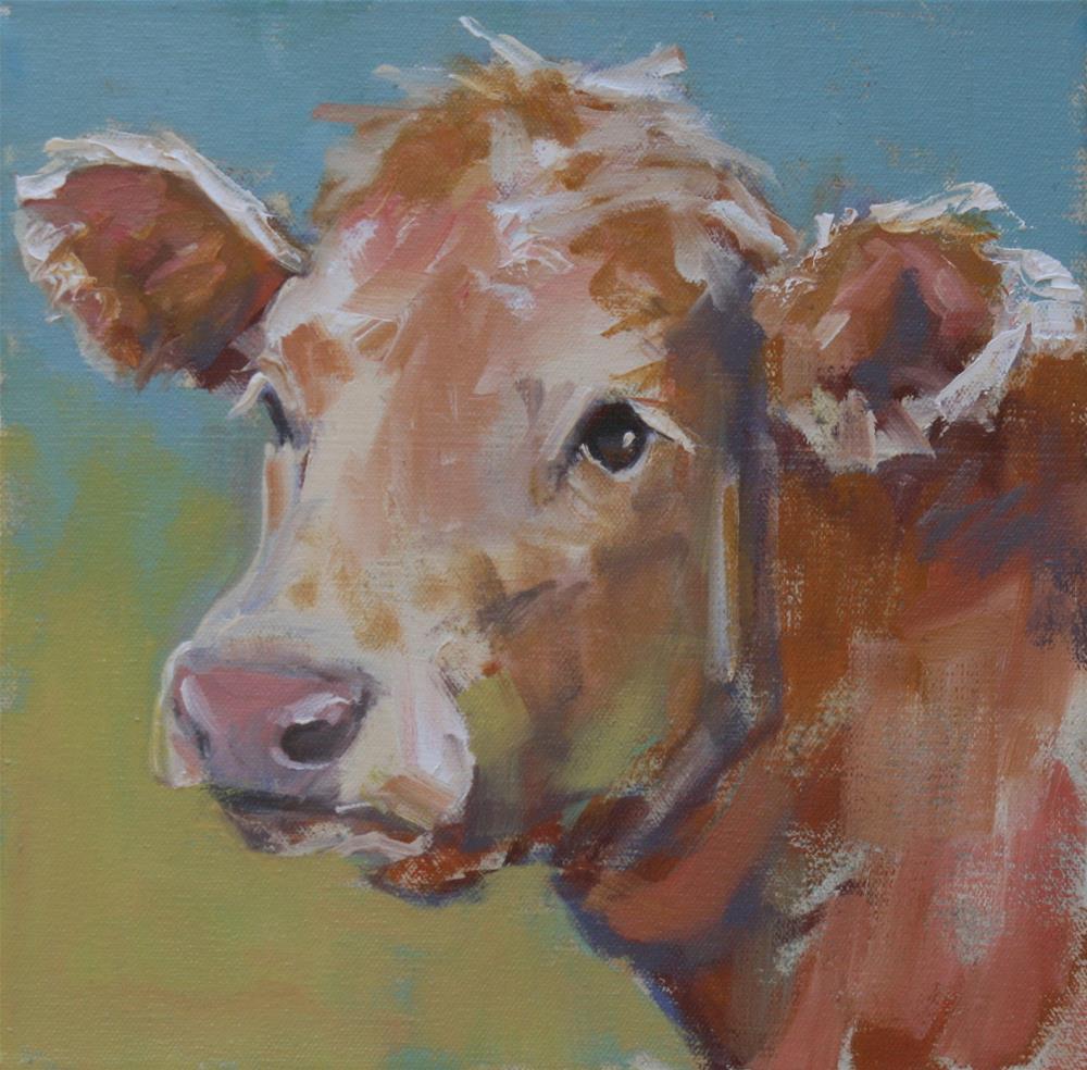"""""""lyin' eyes"""" original fine art by Carol Carmichael"""