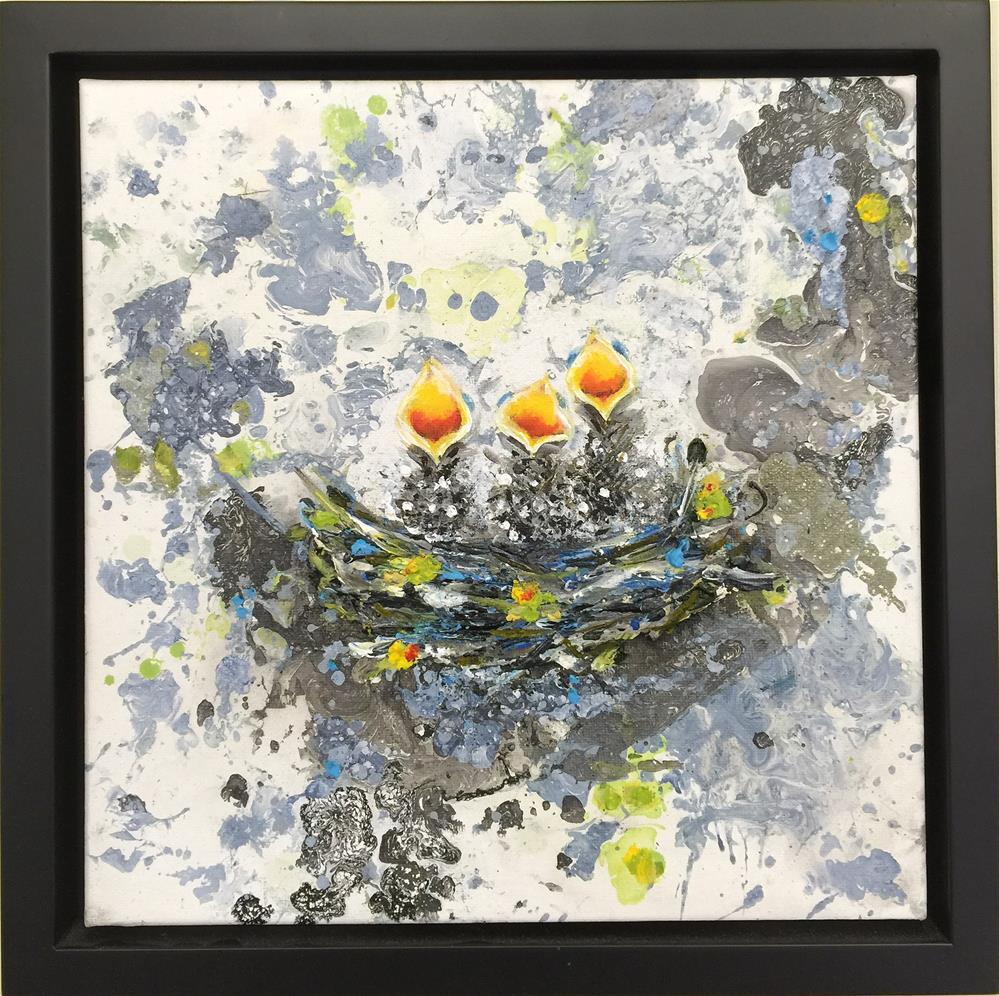 """BEAKS 2"" original fine art by Sunny Avocado"