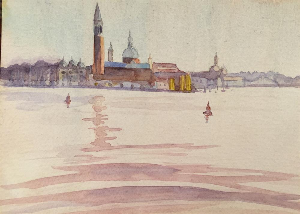 """Venice"" original fine art by Natasha Ramras"