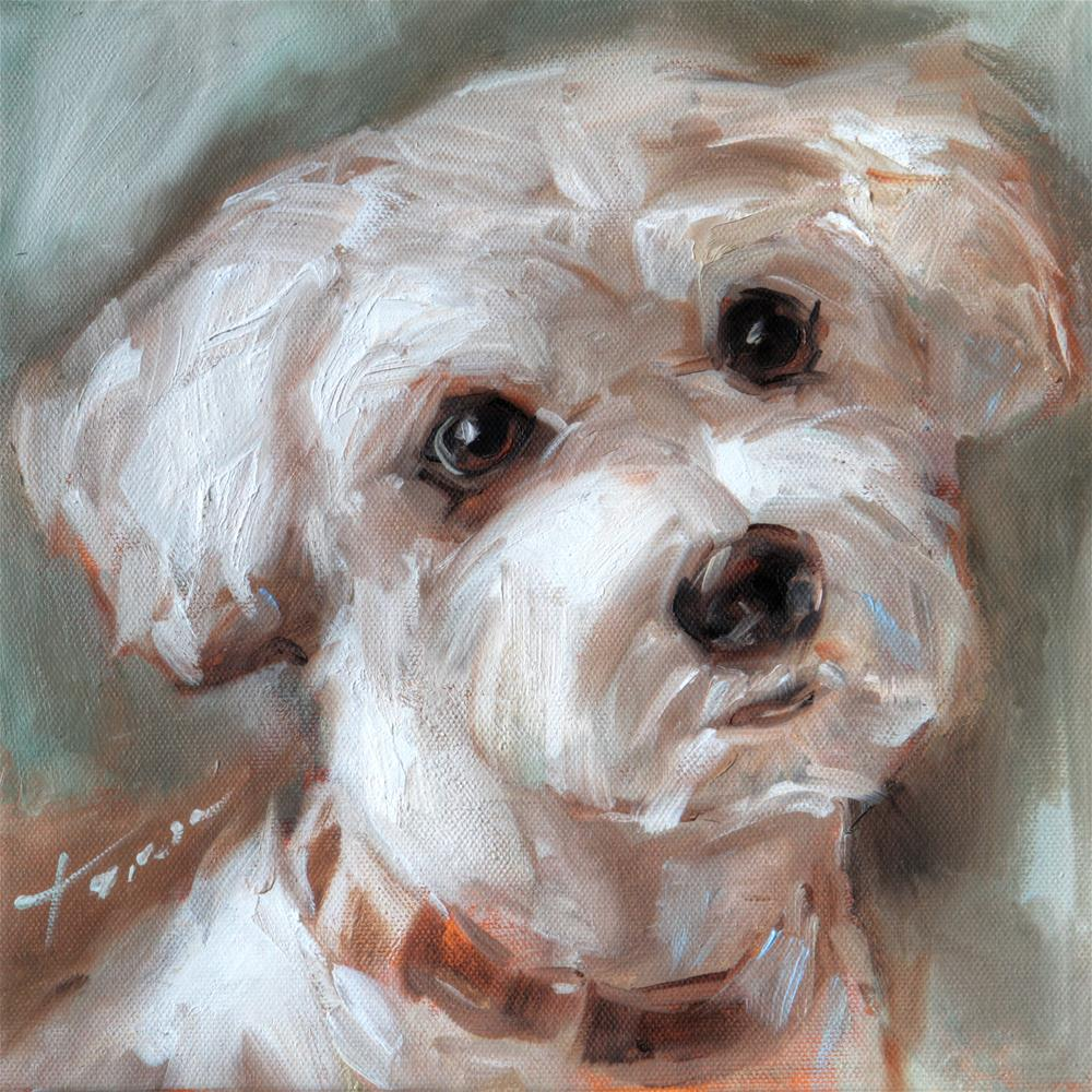 """Puppy"" original fine art by Teresa Yoo"