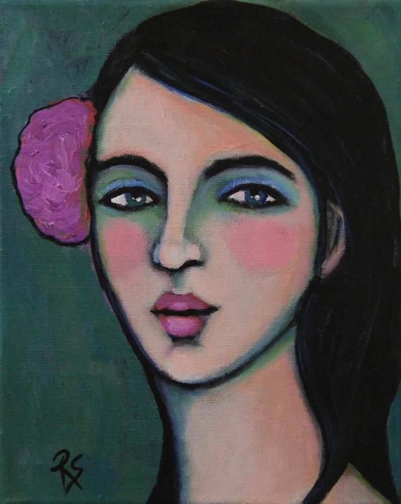 """Lola"" original fine art by Roberta Schmidt"