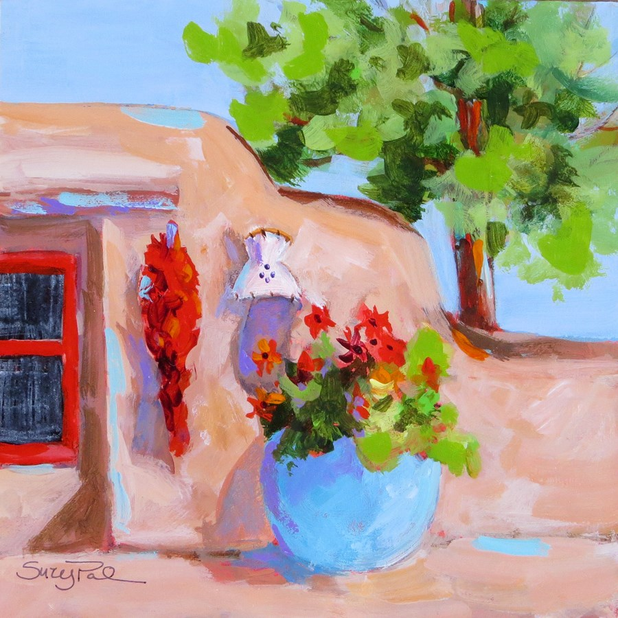 """Santa Fe #6"" original fine art by Suzy 'Pal' Powell"