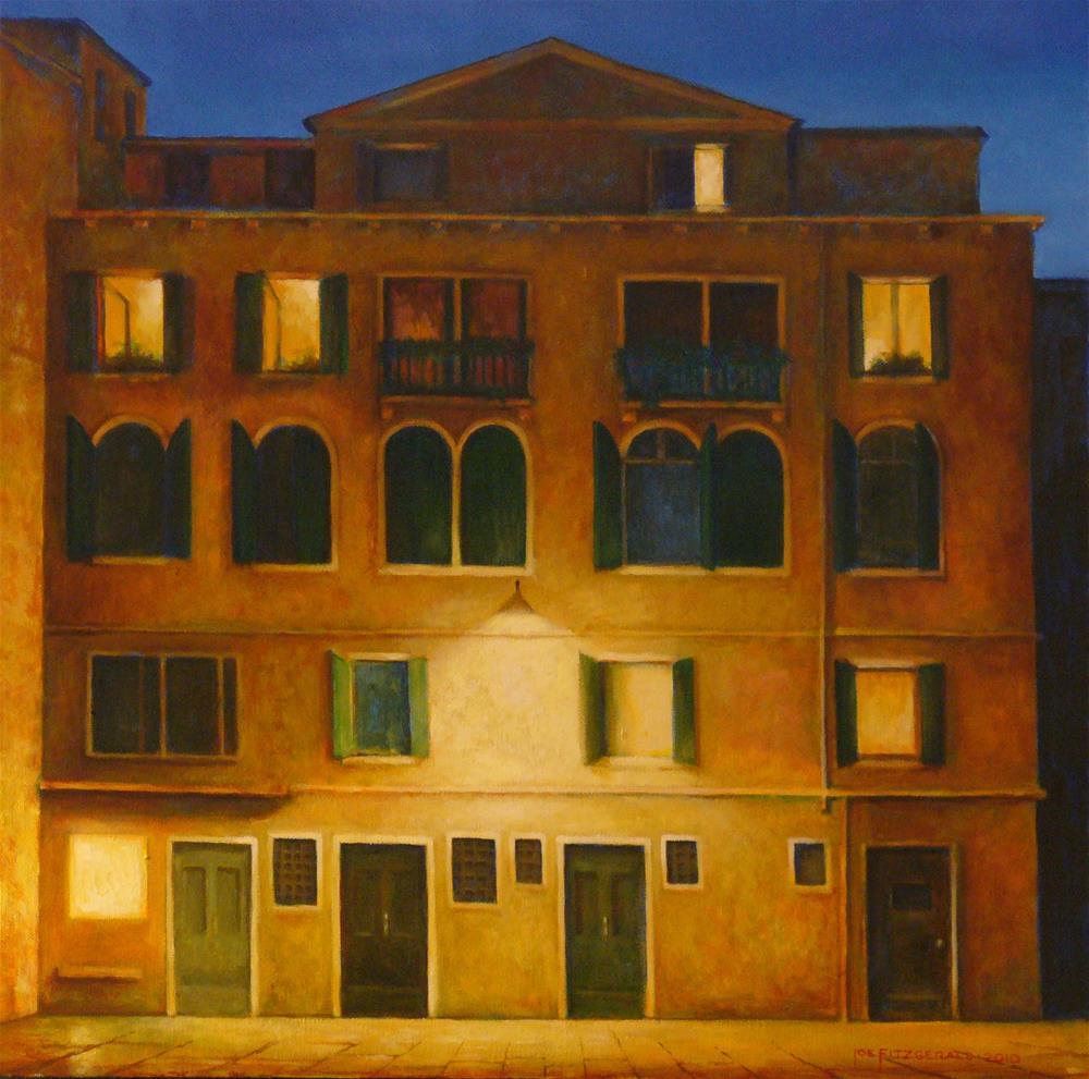 """Campo San Maurizio"" original fine art by Joe Fitzgerald"