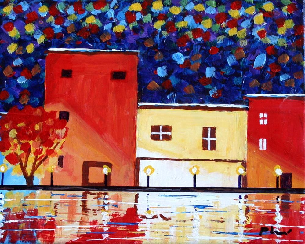 """RIVER COLORS"" original fine art by Bob Phillips"