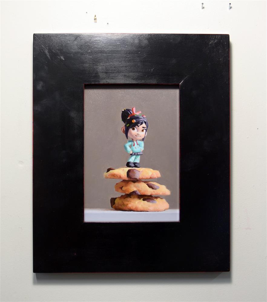 """Chocolate Chip Champion"" original fine art by Brian Burt"