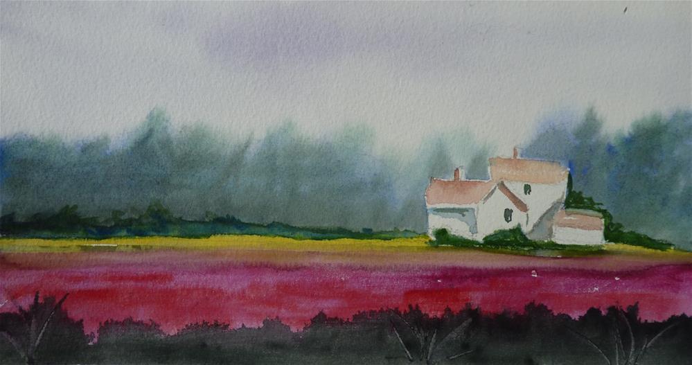 """Skagit County"" original fine art by Kristina Hess"