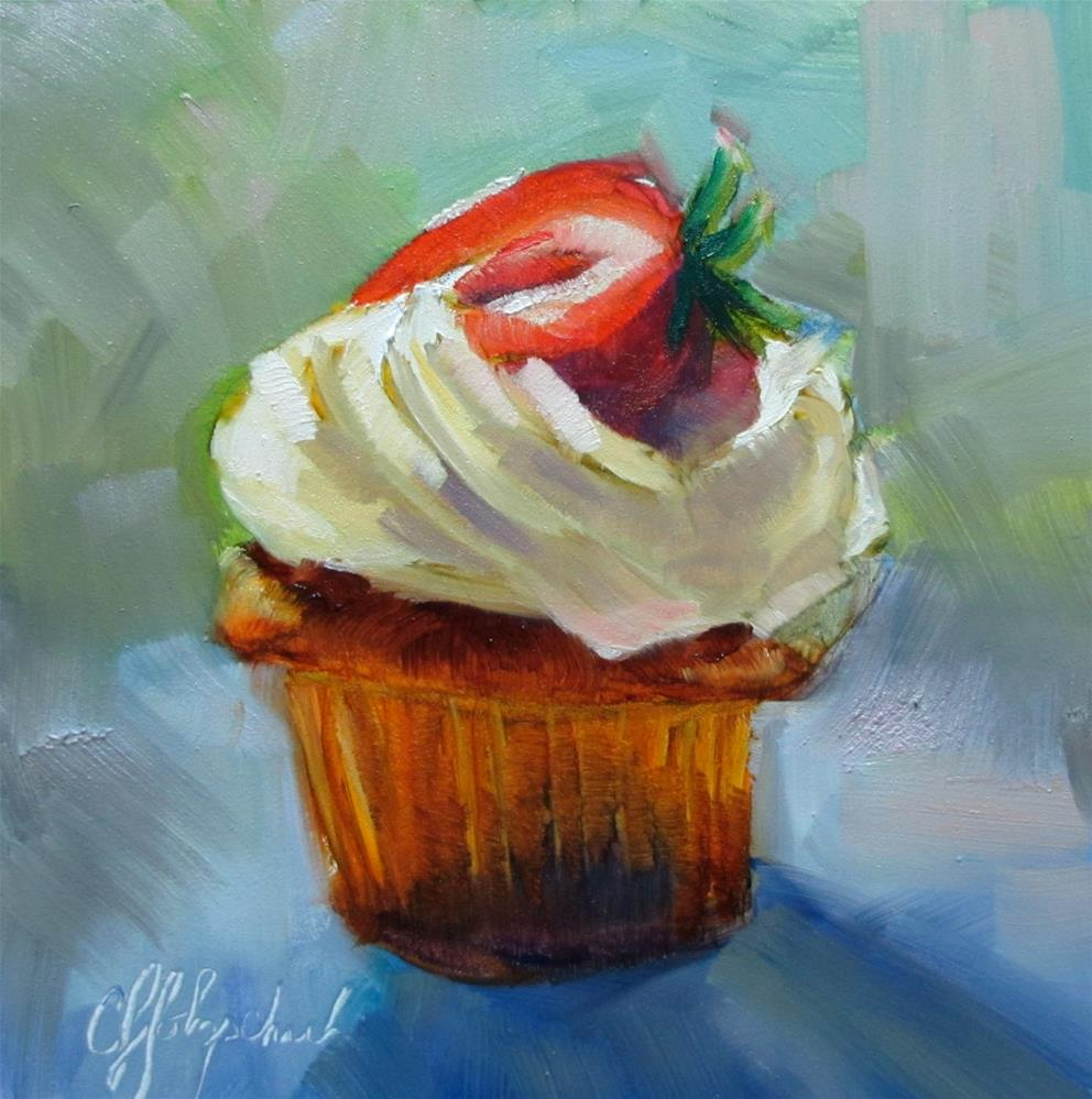 """Yummy!"" original fine art by Christine Holzschuh"