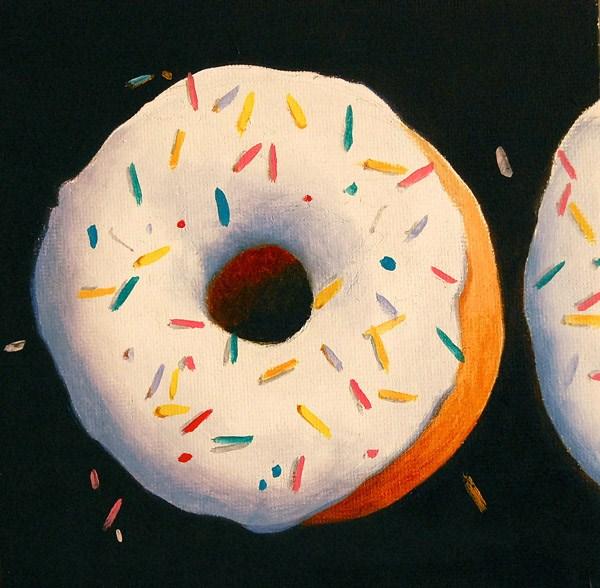 """""""SUGAR FROSTING"""" original fine art by Gerald Schwartz"""