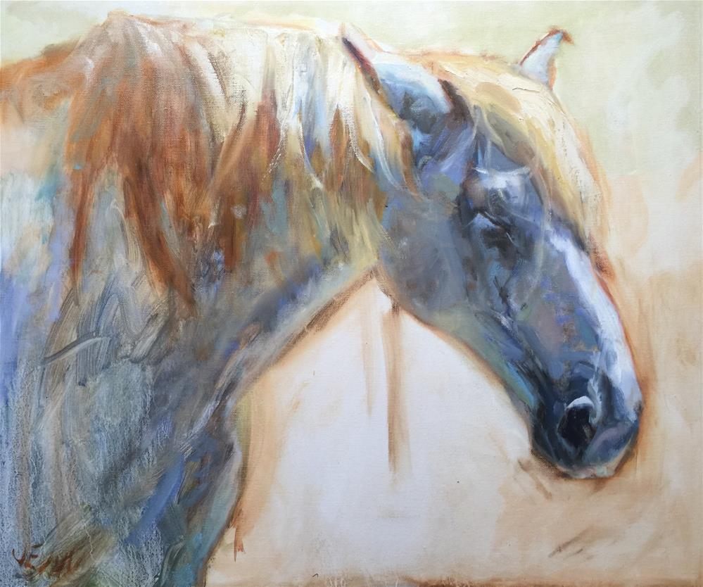 """Retired"" original fine art by Jenny Buckner"