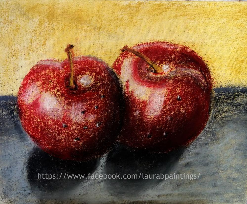"""Red Apples"" original fine art by Laura B."