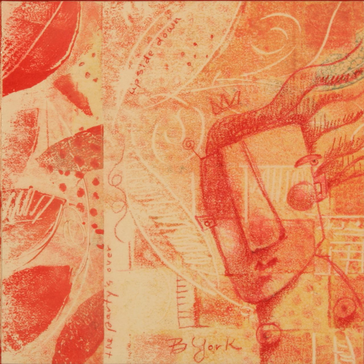 """Soft Spot, Out Of The Vault"" original fine art by Brenda York"