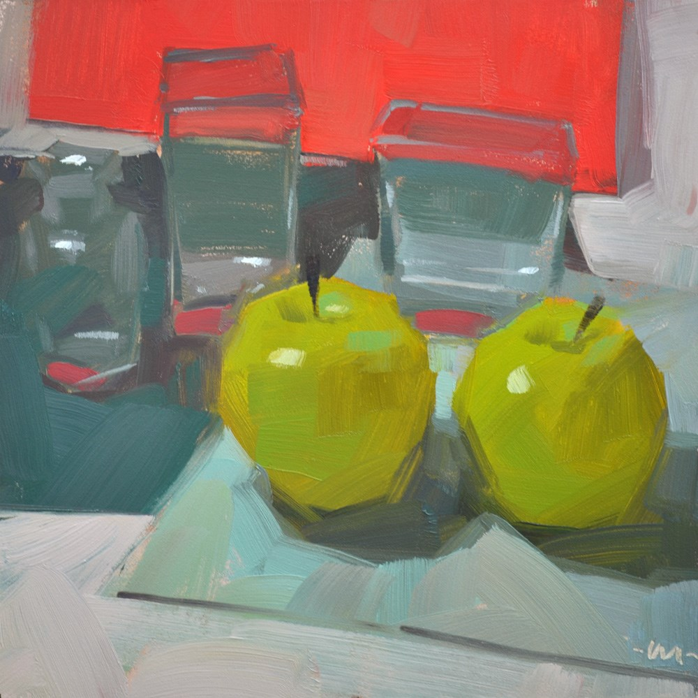 """Good Company"" original fine art by Carol Marine"
