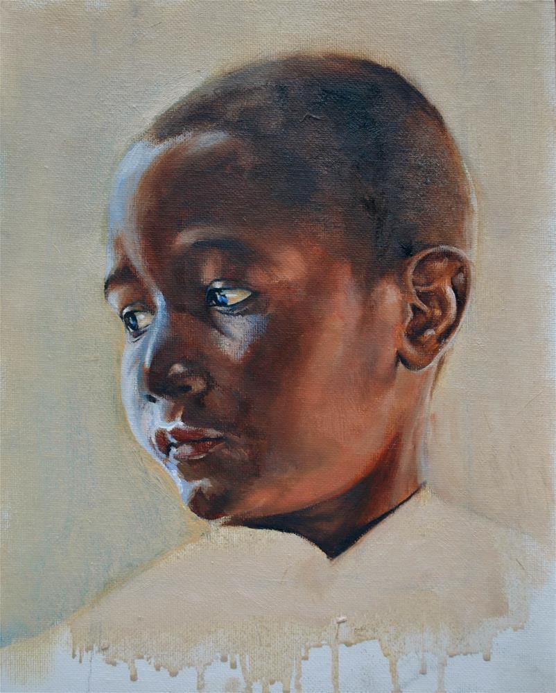 """Boy"" original fine art by Frank Gallimore"