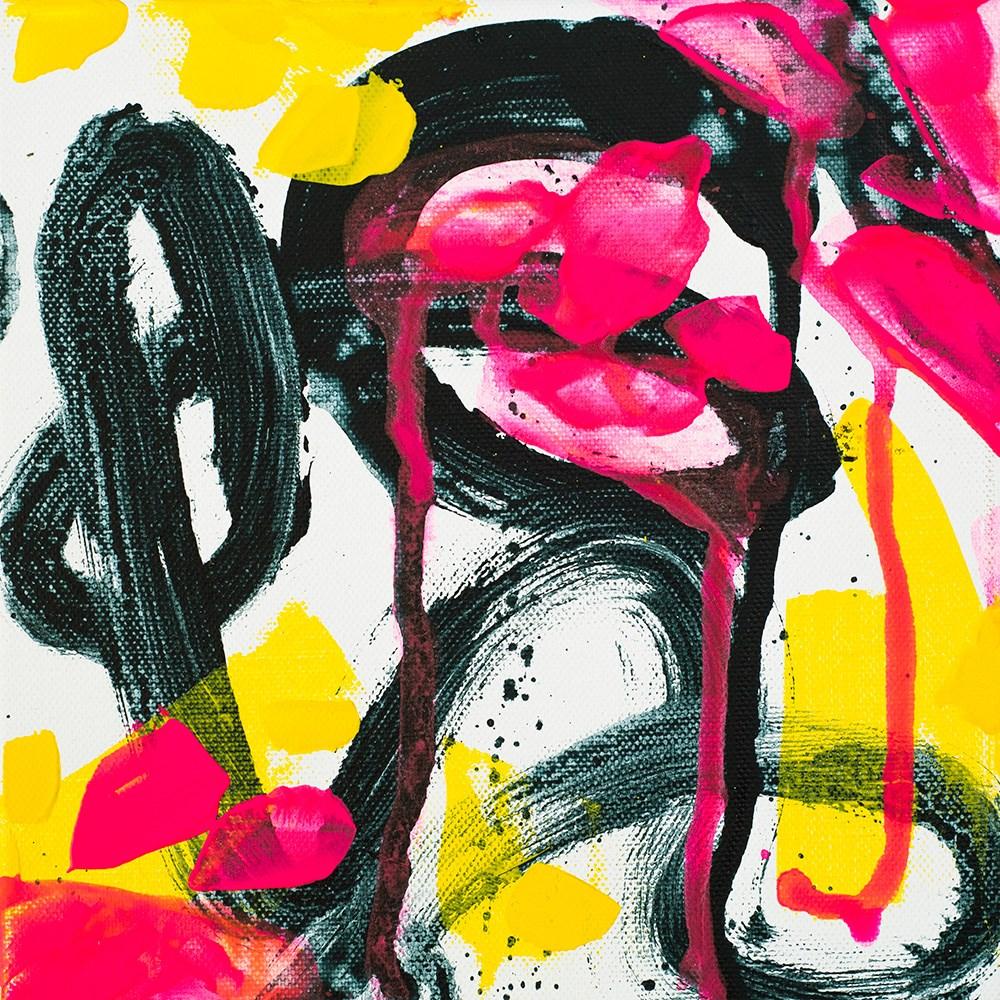 """""""Neon Loophole"""" original fine art by Franziska Schwade"""
