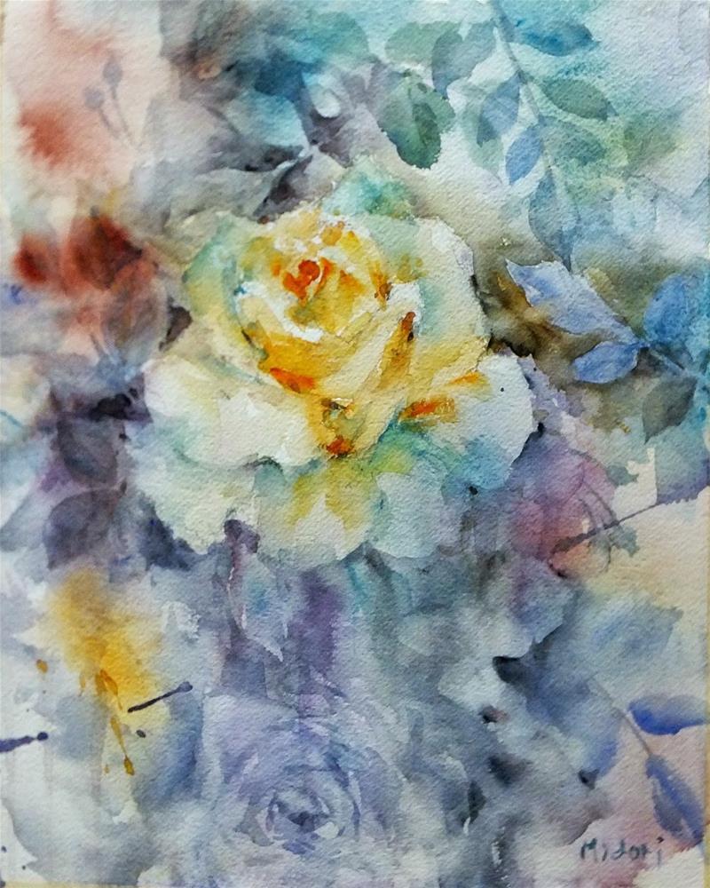 """""""Challenge 2/7"""" original fine art by Midori Yoshino"""