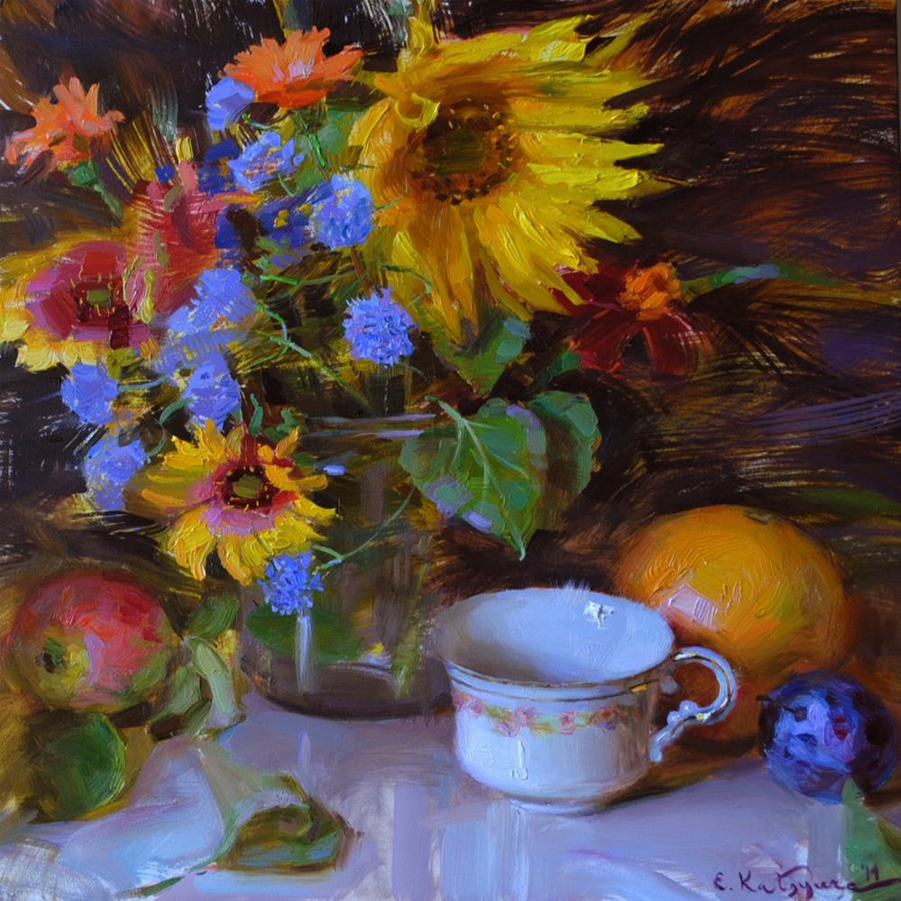 """August Rhapsody"" original fine art by Elena Katsyura"