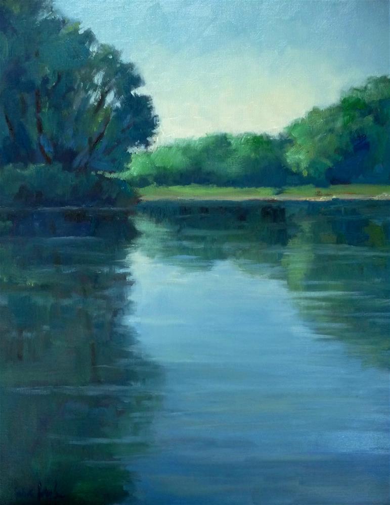 """summer reflections"" original fine art by Lisa Kyle"