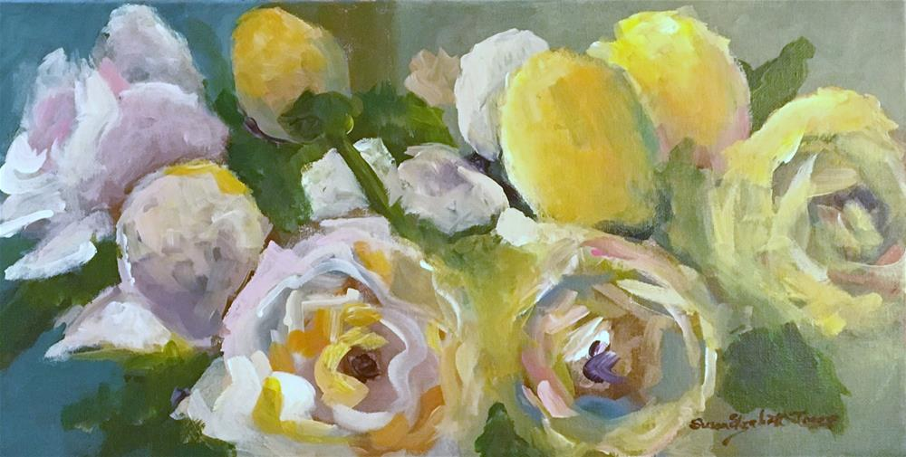 """Charmed"" original fine art by Susan Elizabeth Jones"