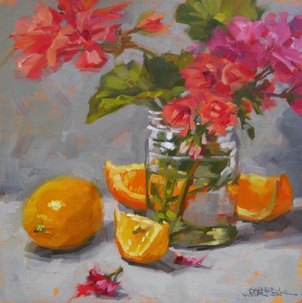 """""""So Cal Color"""" original fine art by Karen Werner"""