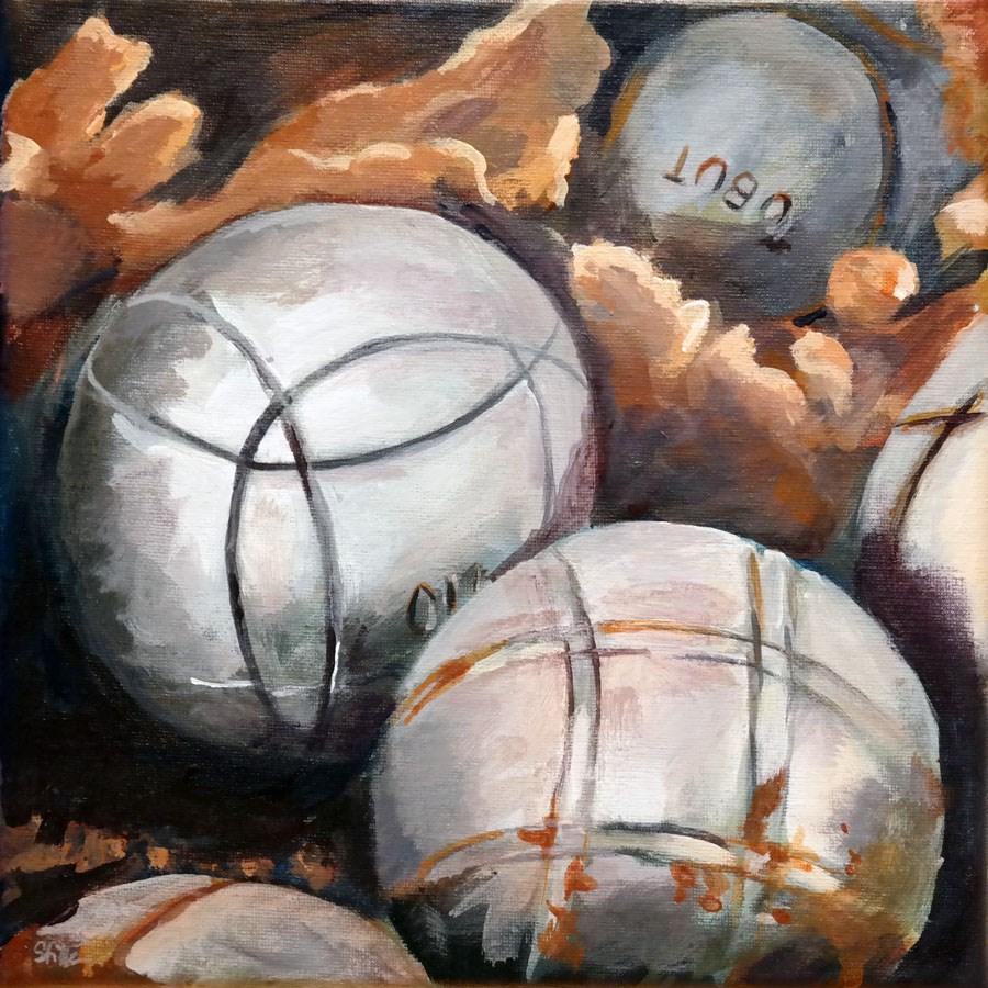 """""""1168 Boulery"""" original fine art by Dietmar Stiller"""