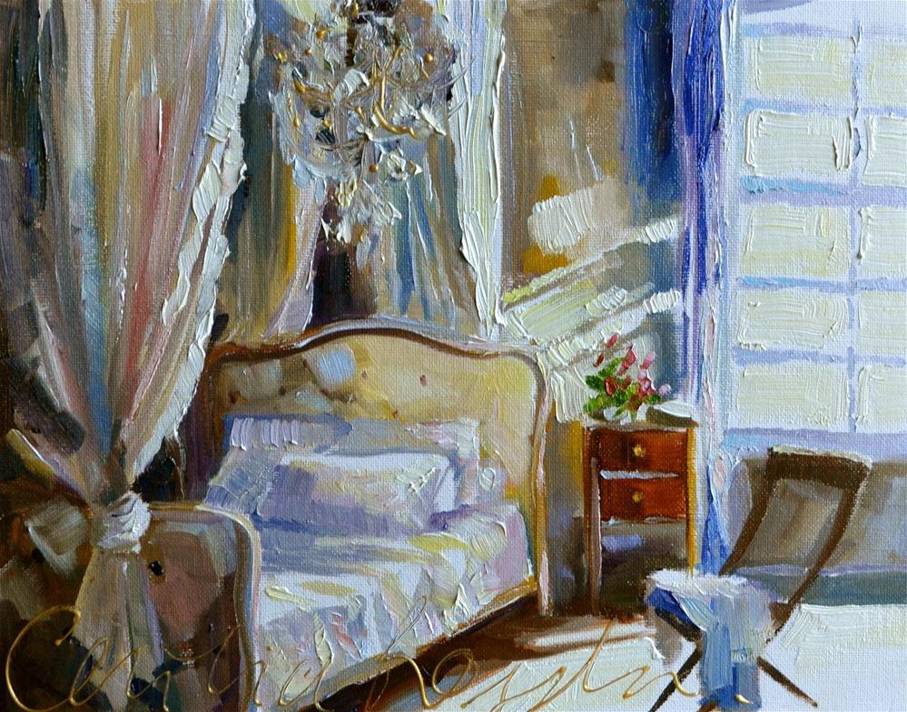 """DIE SLAAPKAMER"" original fine art by Cecilia Rosslee"