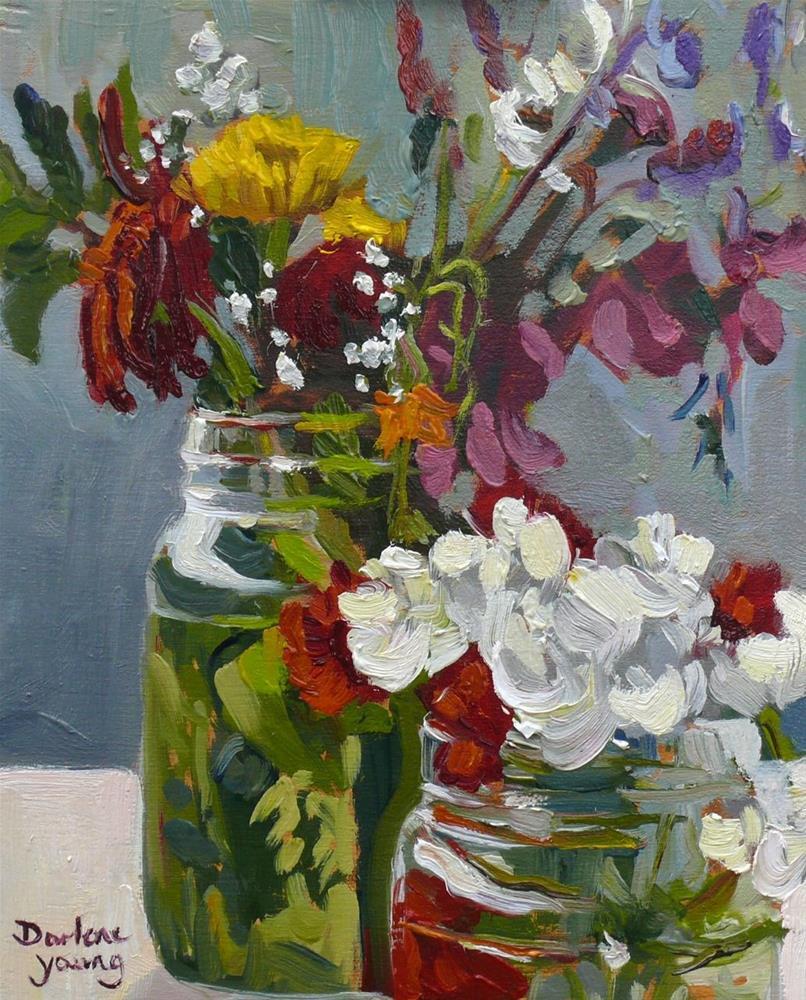 """875 Luscious Beauties, oil on board, 8x10"" original fine art by Darlene Young"